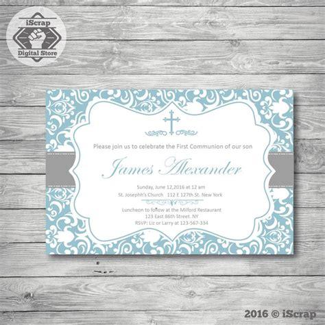 invitaciones de bautizo para nino bautizo invitaci 243 n ni 241 o primera comuni 243 n bautizo invitaci 243 n de bautismo para imprimir de