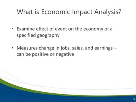 basics  economic impact analysis