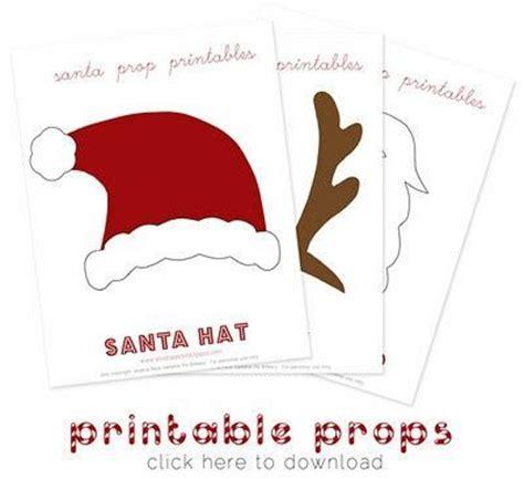 printable xmas photo props printable christmas photo props preschool items juxtapost