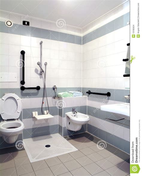 barrier free bathroom stock images image 13185924