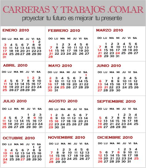calendario diciembre 2015 das feriados en argentina para imprimir feriados 2010 en argentina calendario 2010