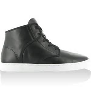 Compare kr3w grant shoe men s black grain leather white sole 9 0