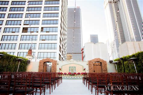 rooftop wedding in los angeles oviatt penthouse wedding part two alan and the youngrens san diego photographers