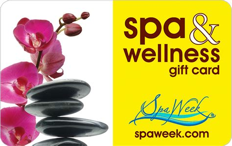 Spaweek Gift Card - spa wellness gift card