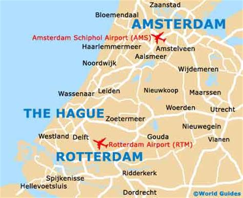 netherlands map airports maps of netherlands cities tourist map of the