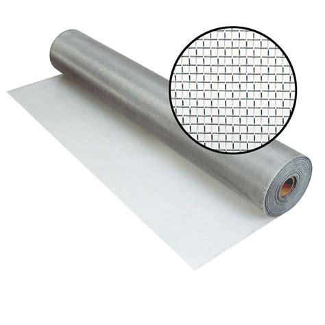Aluminum Solar Screens - phifer 60 in x 100 ft brite aluminum screen