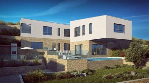 villa kaufen ciovo dalmatien moderne neue villa mit pool