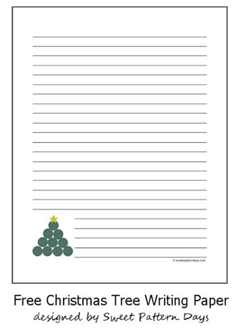 christmas tree writing template new calendar template site
