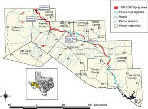 pecos river map map of pecos river nm my