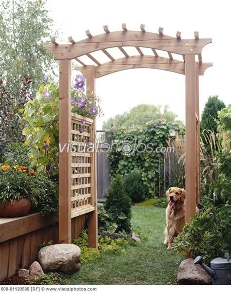 Backyard Arbors Ideas by Backyard Trellis Outdoor Spaces