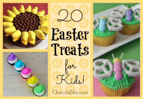 20 easter treats for