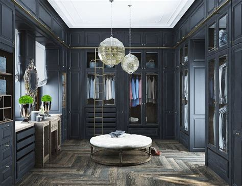 neoclassical and deco characteristics in two luxurious