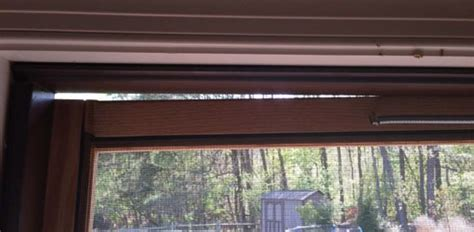 how to fix a sagging screen door today s homeowner