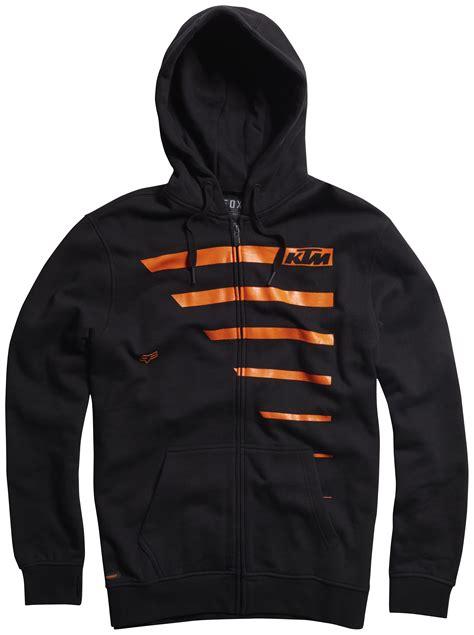 Hoodie Zippjaketsweater Fox Racing fox racing ktm race lines zip hoody 12 9 60 revzilla