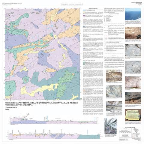 publications of the south carolina geological survey