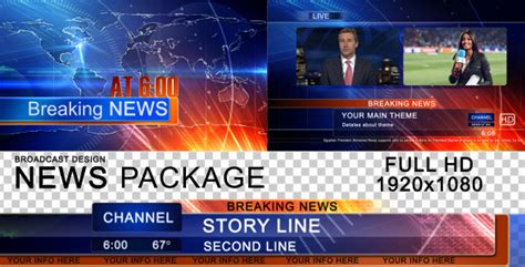 broadcast world news package by cgi freak videohive
