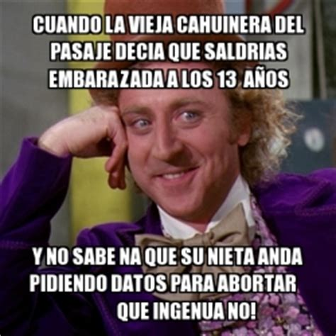 memegenerator willy wonka crear meme willy wonka hacer