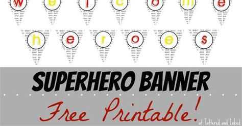 printable welcome banner for classroom superhero printable welcome banner school classroom