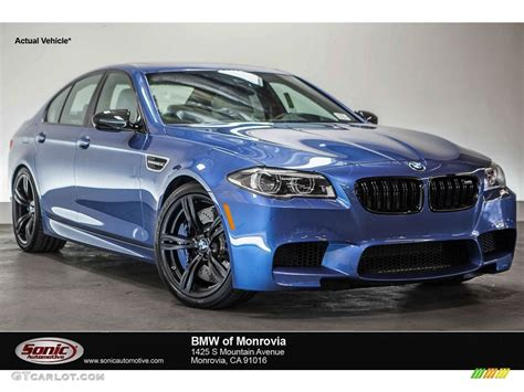 Bmw M5 Blue by 2016 Bmw M5 Blue 200 Interior And Exterior Images