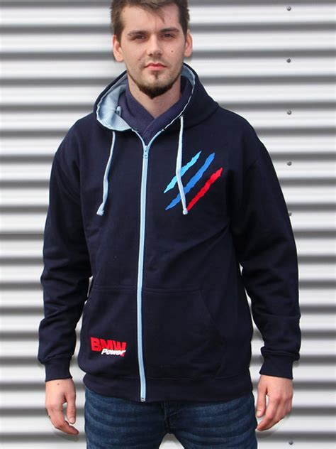 Hoodie Zipper Bmw 1 Tuning Couture Bmw Power Zip Hoodie Scratch