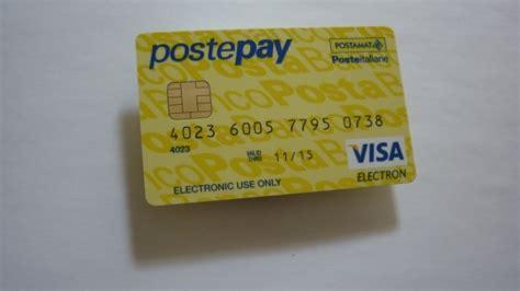 carta prepagata postepay evolution arriva la nuova carta di poste italiane