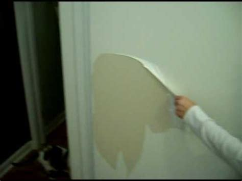 temporary peel off wall paint james west painting watch the paint peel off the door
