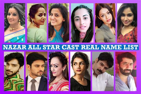 actress name in nazar serial nazar star cast real name star plus serial story plot