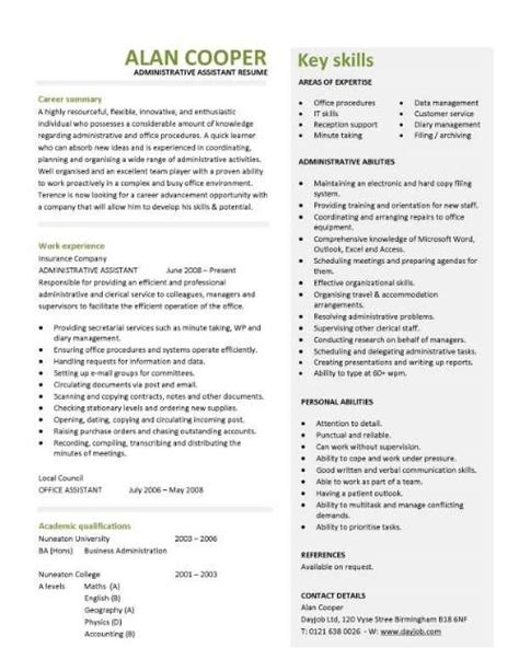 resume template ideas best 25 resume exles ideas on resume