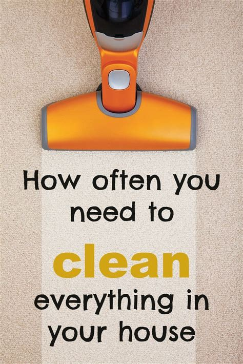 how often should you clean your bathroom how often you need to clean everything in your home and how to do it diy craft s
