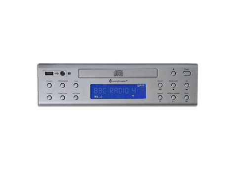 Kitchen Cabinet Radio Cd Player by Soundmaster Ur2050si Under Cabinet Fm Cd Player Kitchen