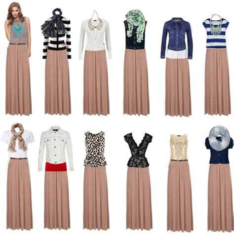 Were The Same But One Wears A Skirt by Inspiration 12 With The Same Maxi How To
