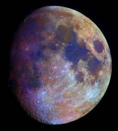 color of the moon apod 2006 february 16 the color of the moon