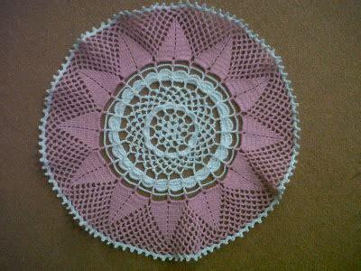 tutorial rajutan taplak meja rajutan benang kreasiku crochet lace taplak meja kecil
