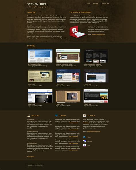 design html page using photoshop design an attractive one page portfolio using photoshop