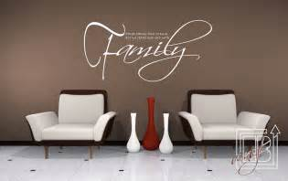 Wall Stickers Family Items Similar To Start And End With Family Vinyl Wall