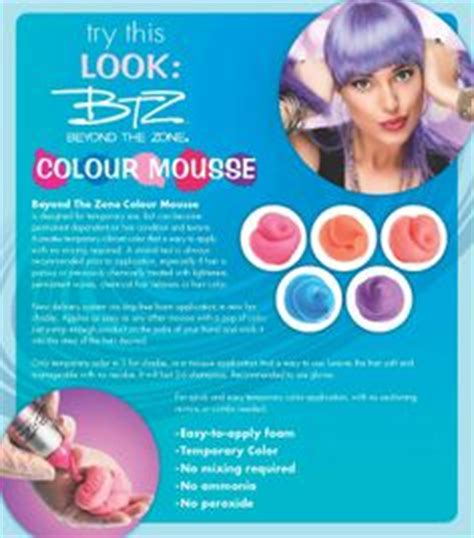 beyond the zone color mousse hair color me beautiful on colored hair