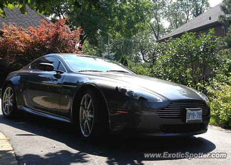 Aston Martin Canada by Aston Martin Vantage Spotted In Burlington Canada On 08