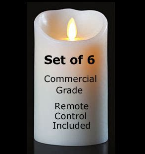 Free Led Candles 3 Pcs With Remote White moving flameless candle white 3 5 x 7 remote
