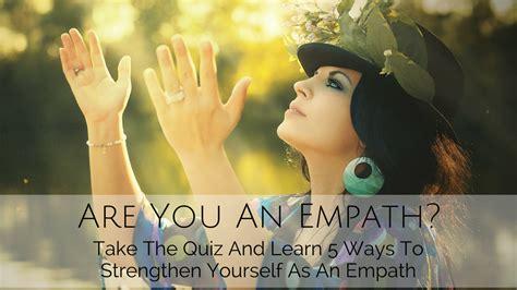 empath   quiz  learn  ways