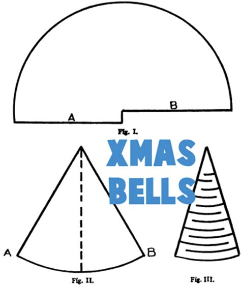 How To Make A Paper Bell - bell crafts for make bells