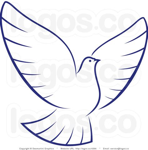 white dove template pin dove outline on