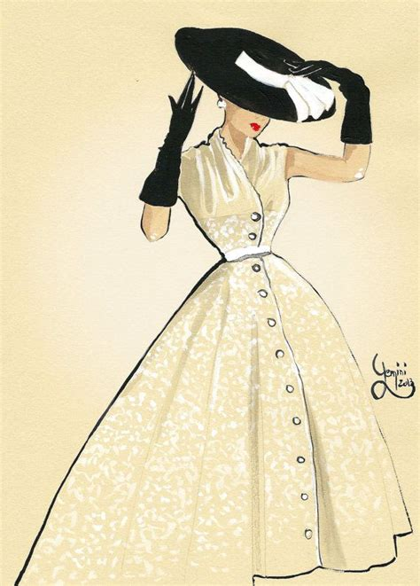 fashion illustration inspiration vintage fashion illustration