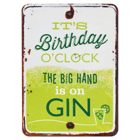 grin and tonic birthday o clock gin card temptation gifts