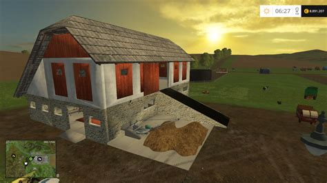 stable with manure removal v0 8 farming simulator 2015