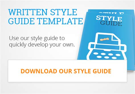 style guide template download image collections