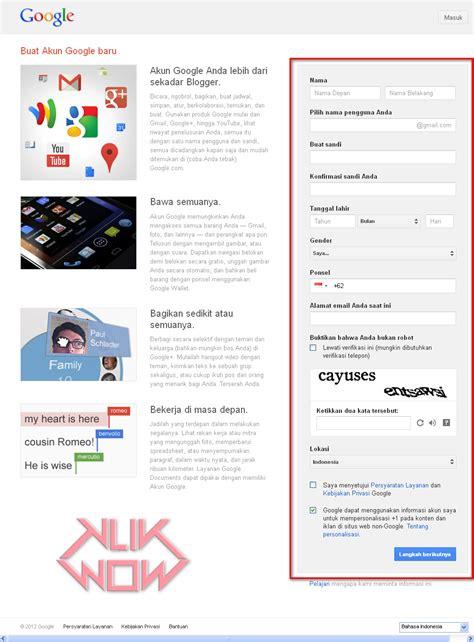 cara membuat akun gmail yg sudah ada cara membuat blog di blogger com ada caranya