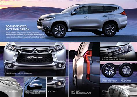 Outer All New Pajero Outer Pajero 2016 Carcar Shop 2018 mitsubishi delica new car release date and review