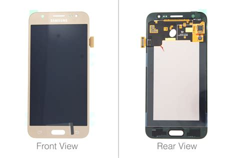 genuine samsung galaxy  sm  gold lcd screen