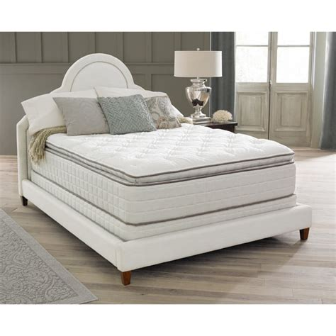 queen size pillow top bed spring air backsupporter sadie pillow top queen size