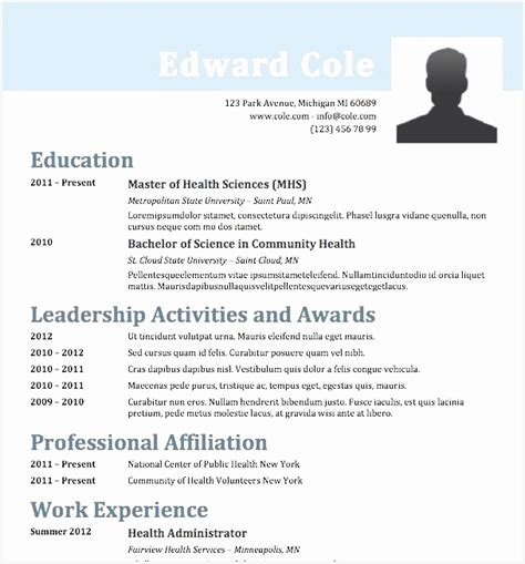 Buy Cv Template by 6 Cv Templates Buy Free Sles Exles Format